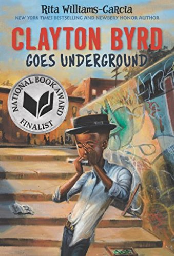 best middle-grade books about music and musical theater - clayton byrd goes underground