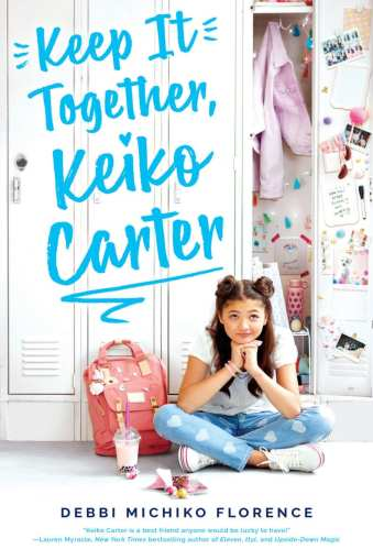 Middle-Grade Books with Biracial Protagonists - Keep It Together, Keiko Carter