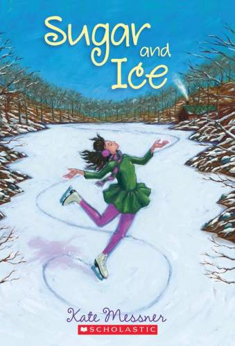 Sugar and Ice - Best Middle-Grade Book About Sports (figure skating)