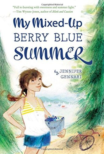 My Mixed-Up Berry Blue Summer - middle-grade books about bullying