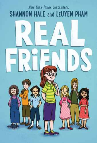 real friends - shannon hale - best middle-grade graphic novels
