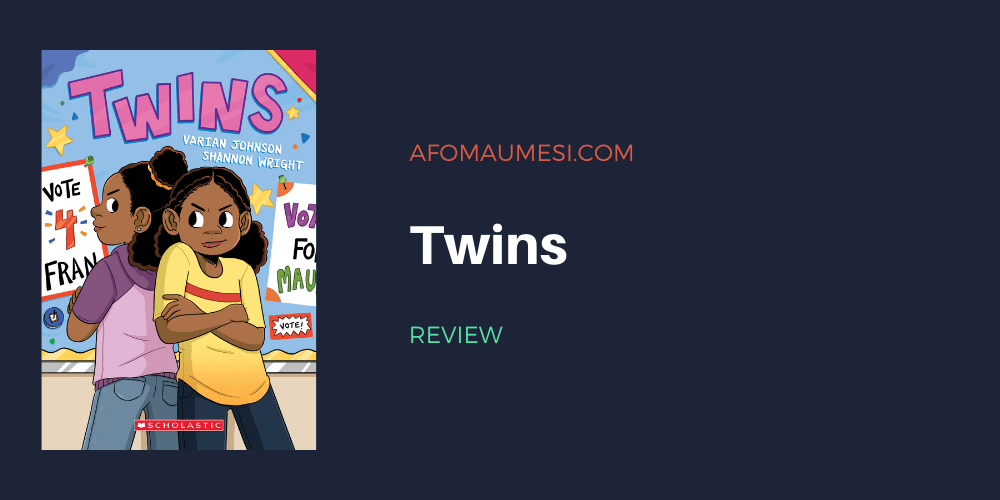 twins - varian johnson review
