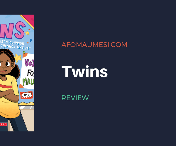 Graphic Novel Review: Twins by Varian Johnson