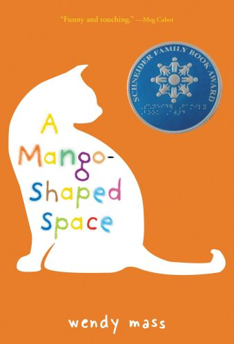 A Mango-Shaped Space -  middle-grade books with neurodivergent characters