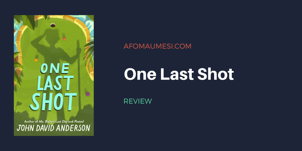 one last shot - book review