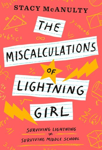 The Miscalculations of Lightning Girl  -  middle-grade books with neurodivergent characters