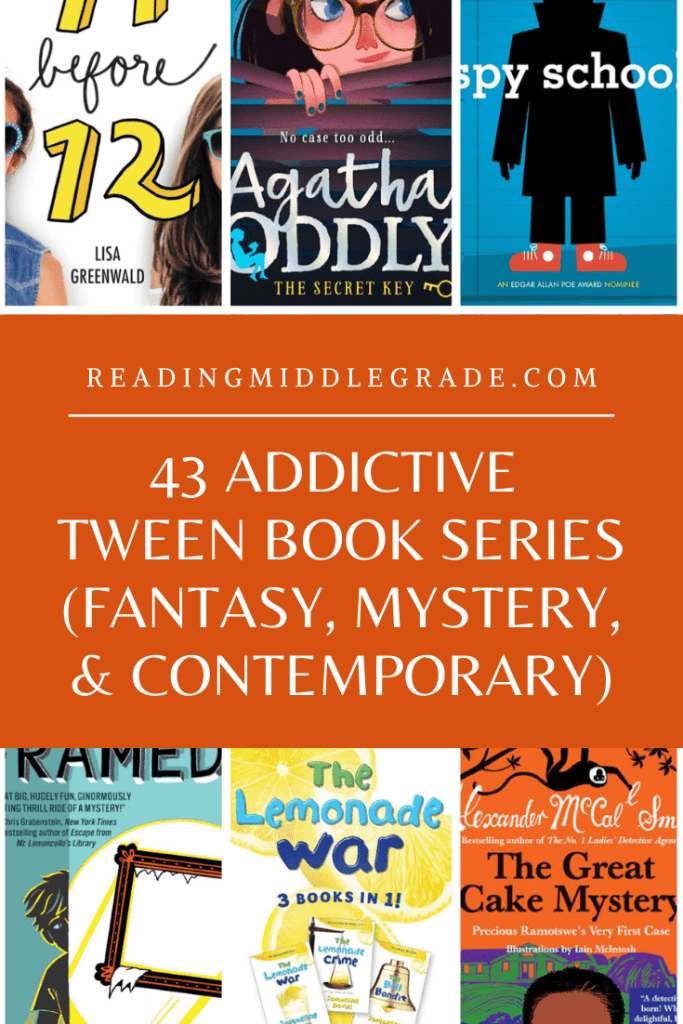 Best Tween Book Series / Middle-Grade Book Series