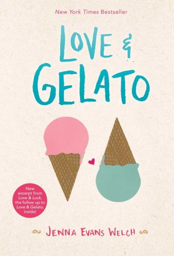 Love and Gelato - Books Like to all the boys i've loved before