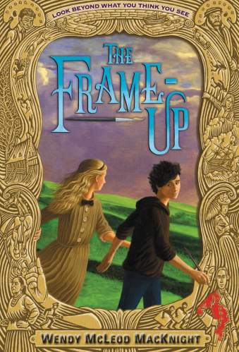 The Frame Up - middle grade books about art