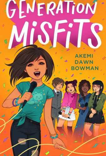 Generation Misfits - Best Asian Middle Grade Books