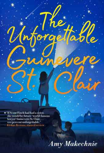 The Unforgettable Guinevere St. Clair - Best Middle Grade Books with Intergenerational Friendships