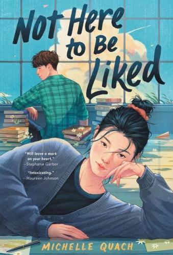 Best Asian YA Books - Not Here to Be Liked