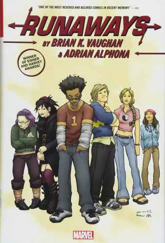 Runaways by Brian K Vaughan - best graphic novels for middle school