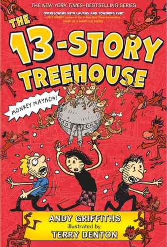 The 13-Story Treehouse: Monkey Mayhem! - Best Graphic Novels for Elementary Students (K-6)