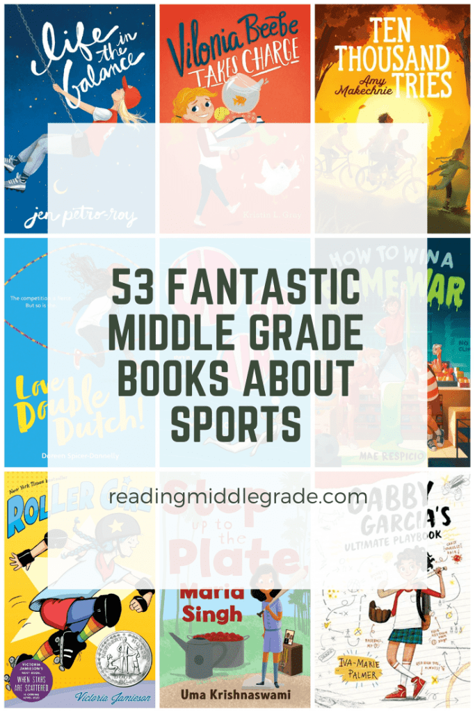 53 Fantastic Middle Grade Books About Sports
