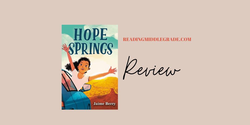 Hope Springs - Book Review