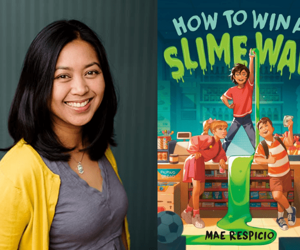 Mae Respicio on How to Win a Slime War (+ Giveaway!)