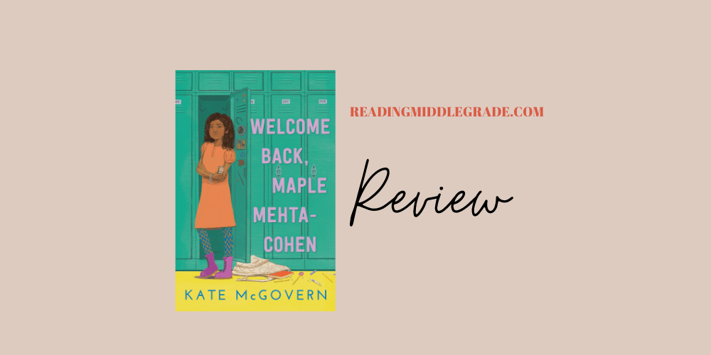 Book Review - Welcome Back, Maple Mehta-Cohen