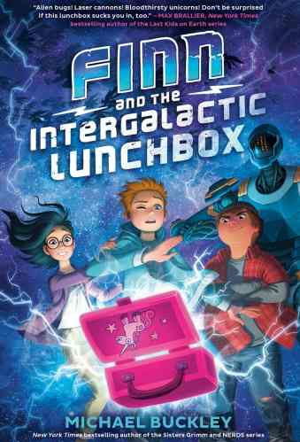 Finn and the Intergalactic Lunchbox - Best Middle Grade Science Fiction Books