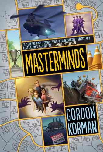 Masterminds - Middle Grade Action and Adventure Books
