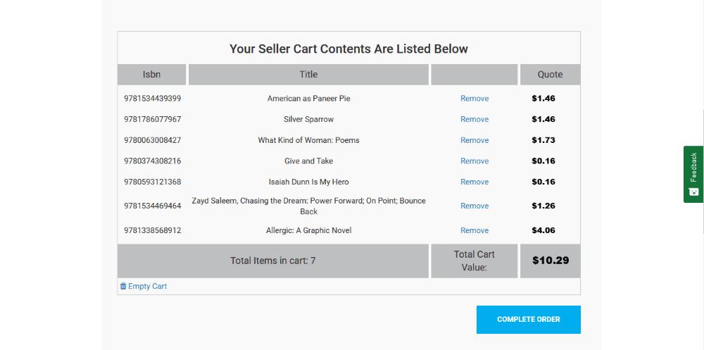 Make money selling used books online on SellBackYourBook.com