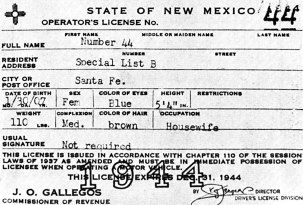 los alamos drivers license