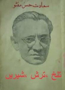 Talakh Tursh Shireen By Saadat Hasan Manto Pdf
