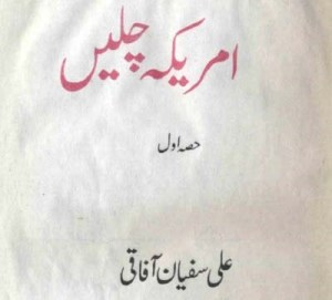America Chalain Safarnama By Ali Sufyan Afaqi