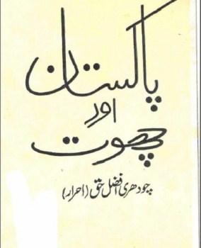 Pakistan Aur Choot By Chaudhry Afzal Haq