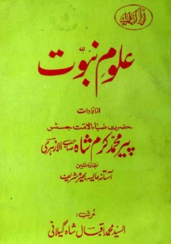 Uloom e Nabuwat Urdu By Peer Karam Shah Alazhari