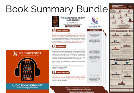 The Hard Thing about Hard Things summary_book summary bundle