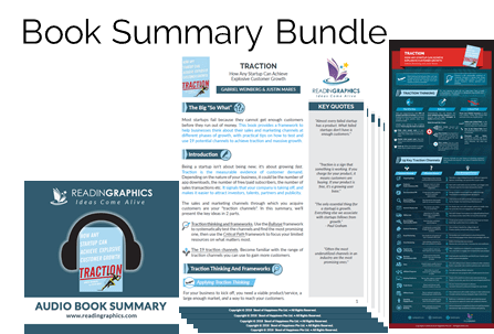 Traction Gabriel Weinberg summary_book summary bundle