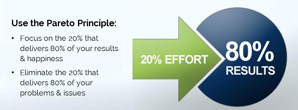 Top success tips_pareto principle