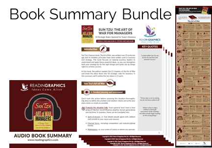 Sun Tzu The Art of War for Managers summary_book summary bundle