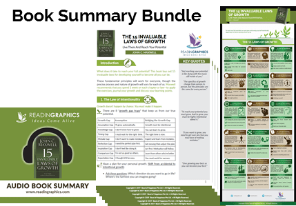 The 15 Invaluable Laws of Growth summary_book summary bundle