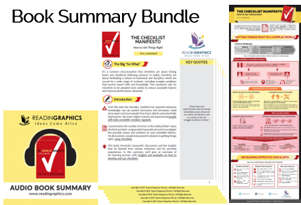 The Checklist Manifesto summary_book summary bundle