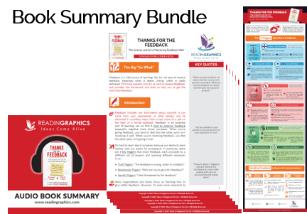 Thanks for the Feedback summary - Book Summary Bundle