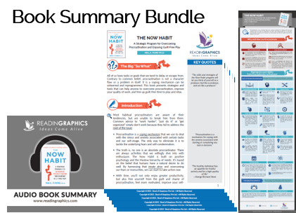The Now Habit summary_Book Summary Bundle