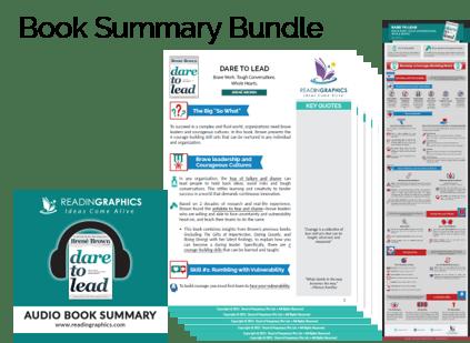 Dare to Lead Summary - Book Summary Bundle
