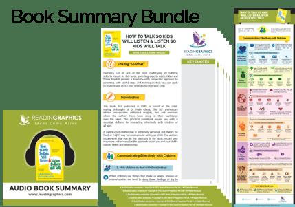 How to Talk so Kids Will Listen & Listen so Kids Will Talk summary - book summary bundle