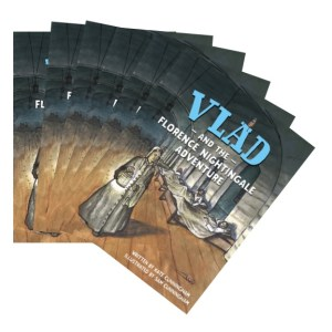 Vlad and the Florence Nightingale Adventure Picture Book – set of 6