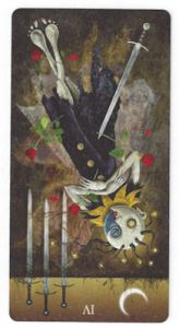 deviant moon tarot four sword reversed