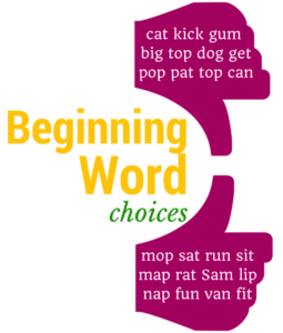 Beginning Word Choices