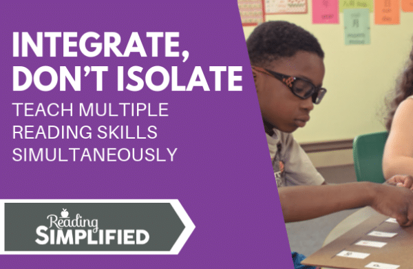 Integrate Don't Isolate
