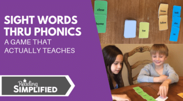 Sight Words Thru Phonics