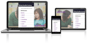 Reading Simplified Academy on devices