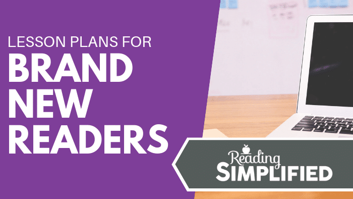 Lesson Plans for Brand New Readers