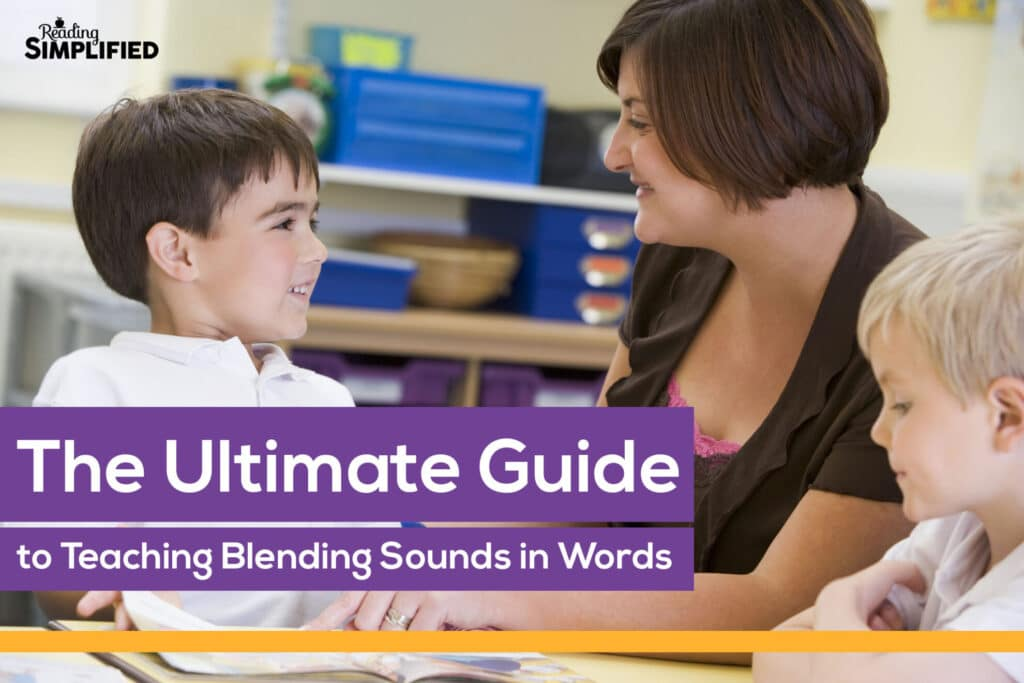 teaching blending sounds to read words