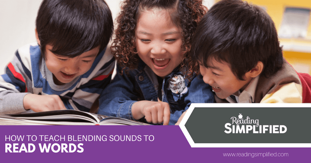 How to Teach Blending Sounds to Read Words