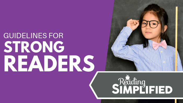 Guidelines for strong readers
